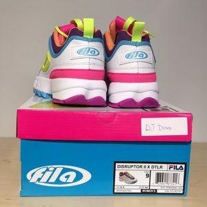 Fila Shoes - FILA DISRUPTOR II X DTLR SNEAKERS RARE COLOR